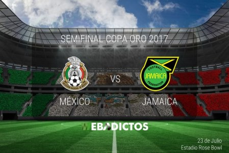 México vs Jamaica, Semifinal Copa Oro 2017 ¡En vivo por internet!