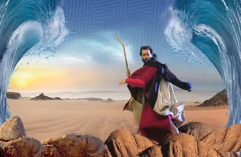 moises y los diez mandamientos mar rojo Moisés y los Diez Mandamientos estrena la esperada apertura del Mar Rojo