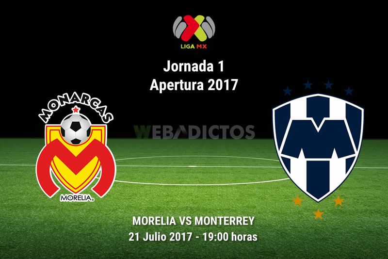 Morelia vs Monterrey, Jornada 1 Apertura 2017   Resultado: 0-0 - morelia-vs-monterrey-j1-apertura-2017