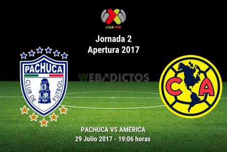 Pachuca vs América, Liga MX Apertura 2017 | Resultado: 0-2