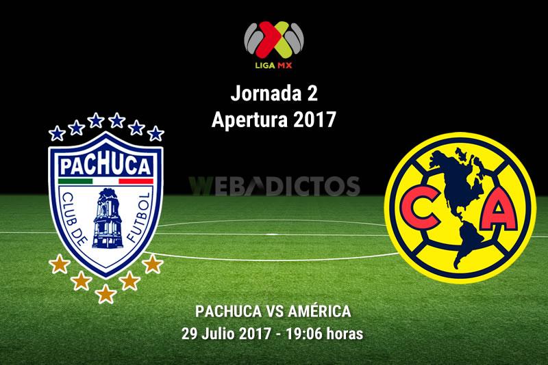 Pachuca vs América, Liga MX Apertura 2017   Resultado: 0-2 - pachuca-vs-america-j2-apertura-2017