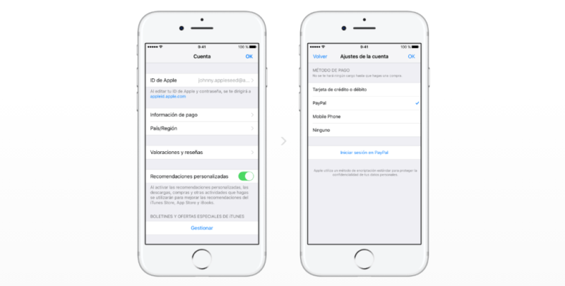 PayPal ahora disponible en App Store, Apple Music, iTunes y más - paypal-ahora-disponible-en-app-store-800x405
