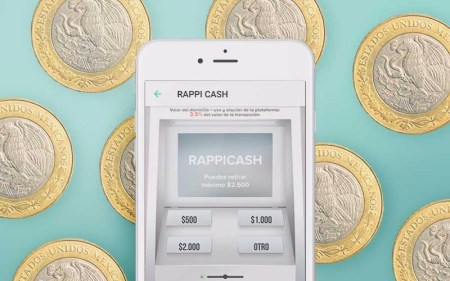 Rappicash: Servicio de Rappi que te lleva dinero en efectivo a domicilio