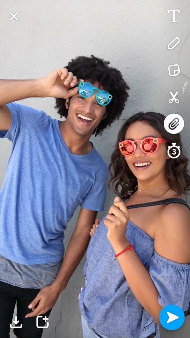 Snapchat presenta filtros de voz, fondos y la opción de añadir enlaces a publicaciones - snap-links