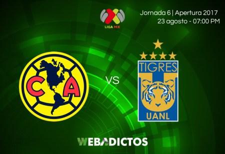 América vs Tigres, Jornada 6 de Liga MX A2017 | En vivo