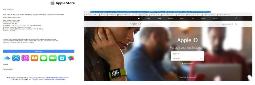 ¡Cuidado! Circula en México un falso correo de Apple que busca robar información. - apple-phishing-fake-mail