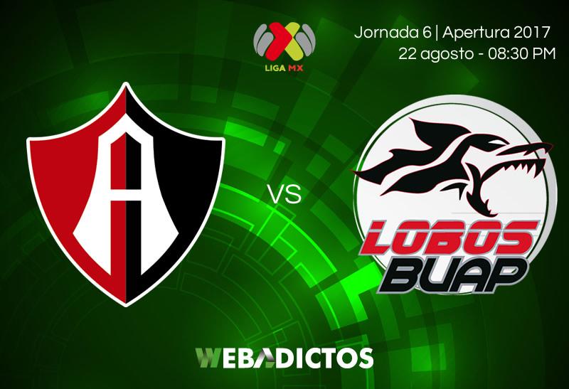 Atlas vs Lobos BUAP, Jornada 6 del Apertura 2017 | Resultado: 1-1 - atlas-vs-lobos-buap-jornada-6-apertura-2017