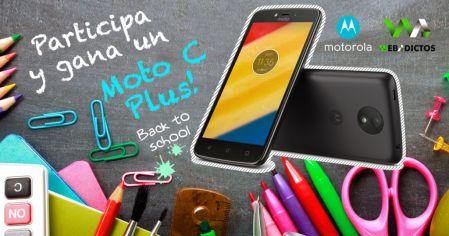 TRIVIA Back to School: Participa y ¡Gana un Moto C plus!