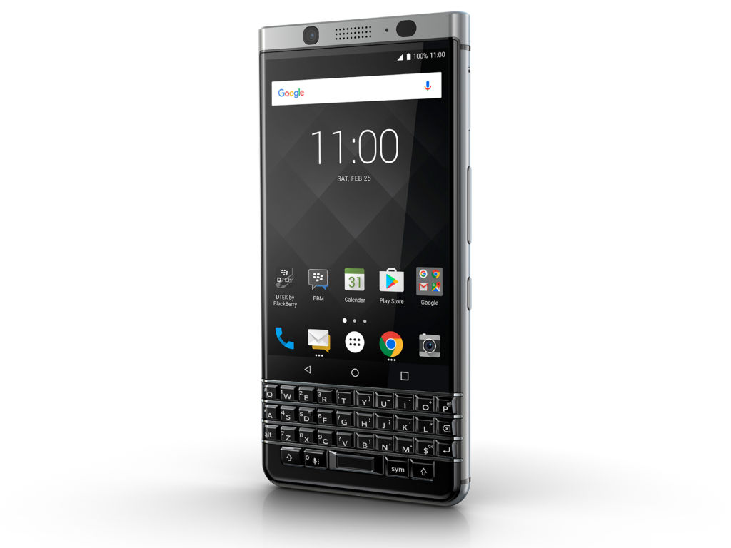 BlackBerry Keyone fue un gran éxito, pronto impermeable modelo sin teclado físico