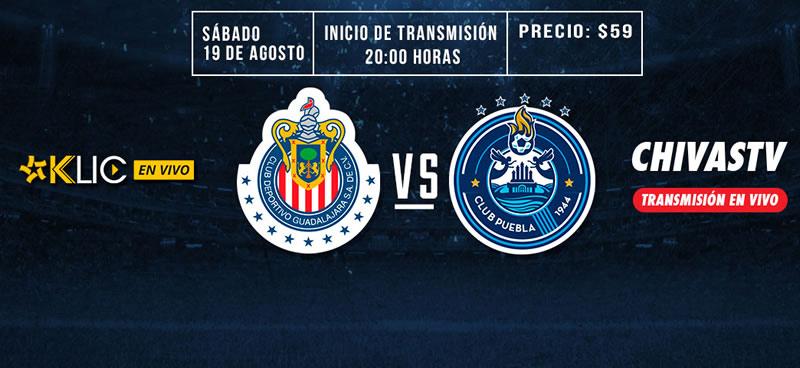 Chivas vs Puebla, Jornada 5 de la Liga MX A2017 | Resultado: 0-1 - chivas-vs-puebla-chivas-tv-apertura-2017