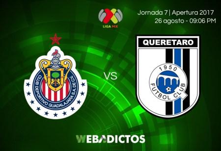 Chivas vs Querétaro, J7 de la Liga MX A2017   Resultado: 0-0
