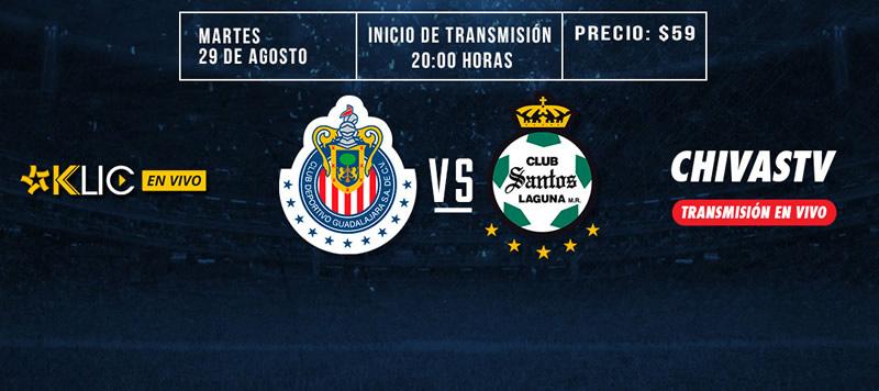 Chivas vs Santos, Copa MX Apertura 2017 | En vivo | Jornada 5 - chivas-vs-santos-copa-mx-apertura-2017-chivas-tv