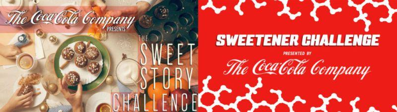 coca cola sweet challenge 800x226 Coca Cola lanza dos retos con premios de hasta un millón de dólares