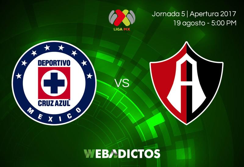 Cruz Azul vs Atlas, Jornada 5 Apertura 2017   Resultado: 2-1 - cruz-azul-vs-atlas-jornada-5-apertura-2017