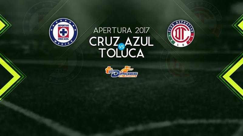 cruz azul vs toluca apertura 2017 televisa deportes Cruz Azul vs Toluca, Jornada 4 Liga MX A2017 | Resultado: 0 0