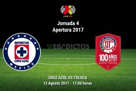 Cruz Azul vs Toluca, Jornada 4 Liga MX A2017   Resultado: 0-0