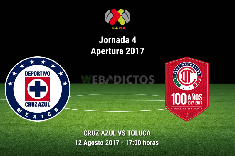 Cruz Azul vs Toluca, Jornada 4 Liga MX A2017 | Resultado: 0-0 - cruz-azul-vs-toluca-j4-apertura-2017