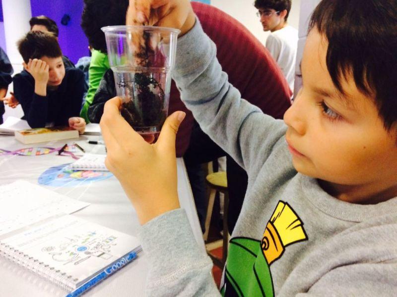 Imparten curso de Biotecnología a niños en RobotiX - curso-biotecnologia