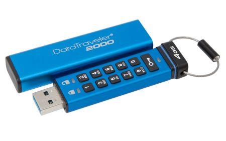Kingston agrega nuevas capacidades a su unidad USB cifrada DataTraveler 2000