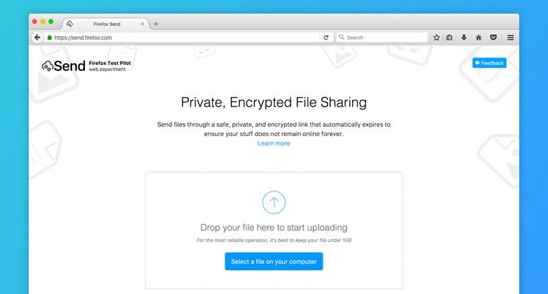 Enviar archivos pesados gratis y seguros por Send de Mozilla - enviar-archivos-pesados-send