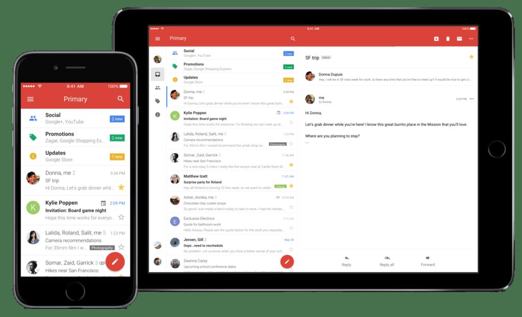 Gmail para iOS te alertará de correos con enlaces phishing - gmail-ios