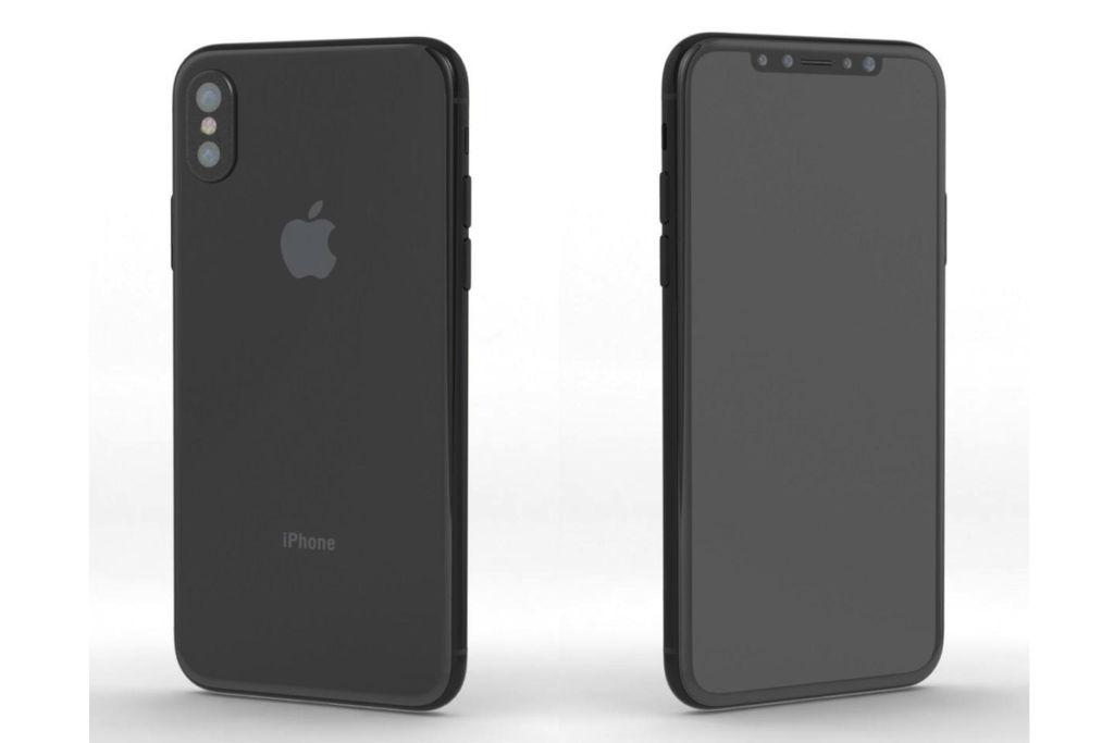 La navegación en el iPhone 8 será mediante gestos - iphone-8-render-2