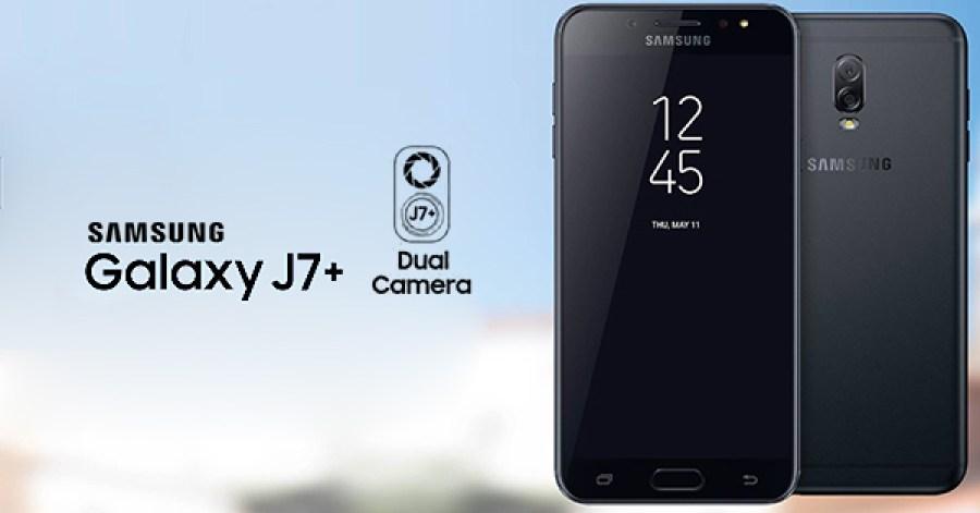 El Galaxy J7+ será el segundo smartphone de Samsung con doble cámara - j7-plus
