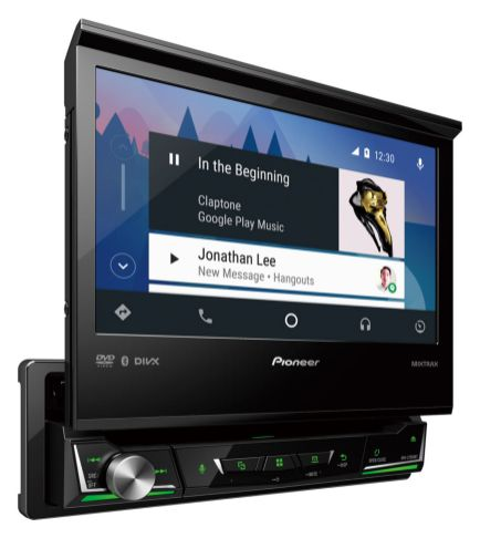 Nueva Serie Z de auto-estéreos multimedia de Pioneer - km698_avh-z7050bt_rcrdri_green_left_b2