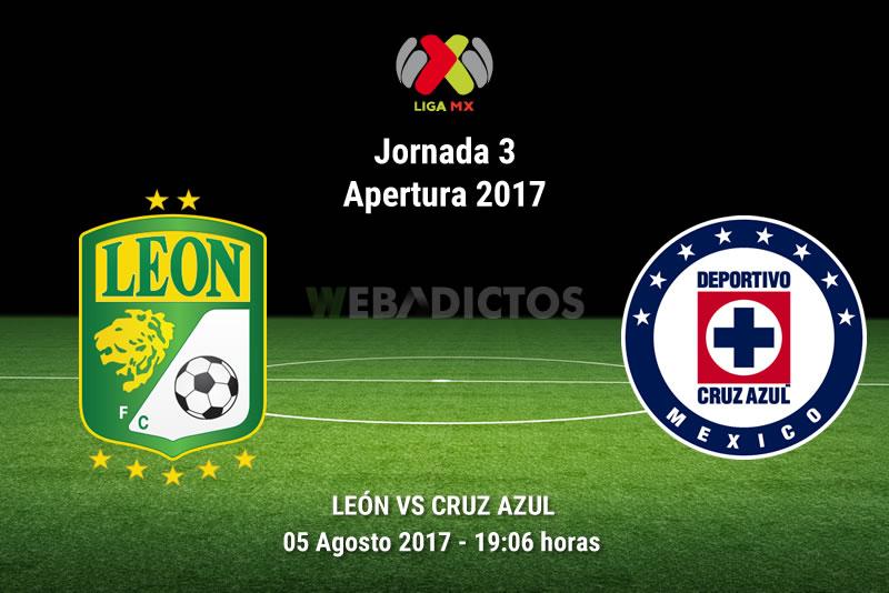 León vs Cruz Azul, Jornada 3 Apertura 2017 | Resultado: 2-2 - leon-vs-cruz-azul-j3-apertura-2017