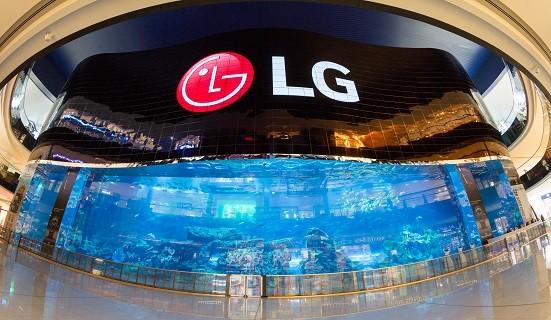 La pantalla OLED de alta definición más grande del mundo es creada por LG en Dubái - lg-open-frame-oled-1