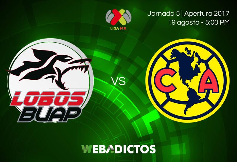Lobos BUAP vs América, Jornada 5 Liga MX A2017 | Resultado: 2-3 - lobos-buap-vs-america-jornada-5-apertura-2017
