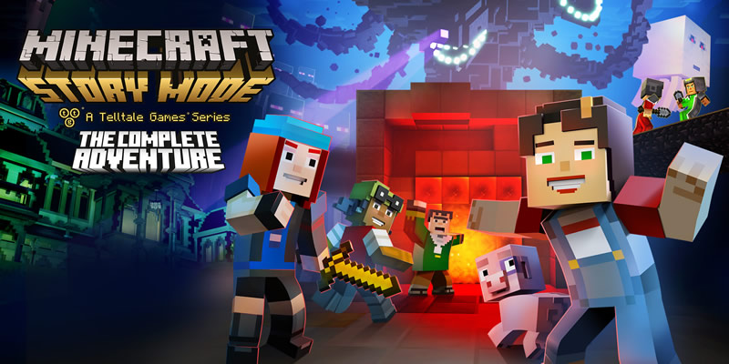 Minecraft Story Mode para Nintendo Switch llega en Agosto - minecraft-story-mode-the-complete-adventure-nintendo-switch