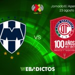 Monterrey vs Toluca, Jornada 6 del Apertura 2017   En vivo