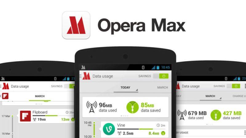 Opera abandona el desarrollo de Opera Max - omax-main-screen
