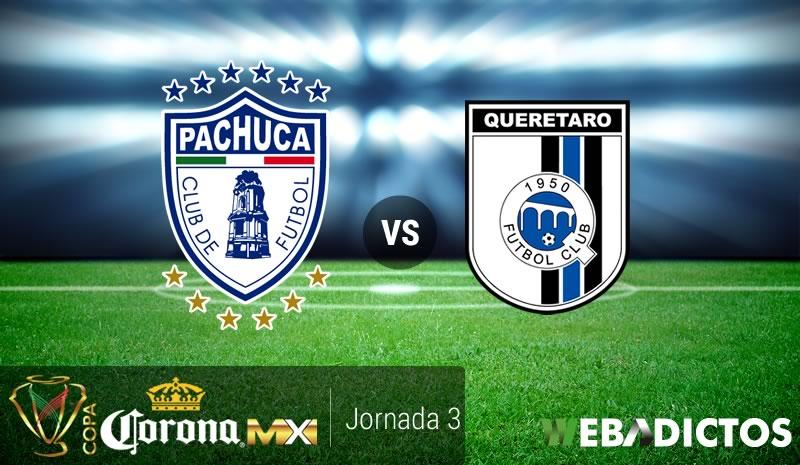 Pachuca vs Querétaro, J3 de Copa MX A2017 | Resultado: 0-0 - pachuca-vs-queretaro-copa-mx-apertura-2017
