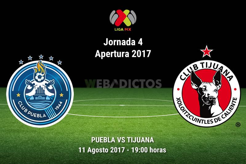 puebla vs tijuana j4 apertura 2017 Puebla vs Tijuana, Jornada 4 Liga MX A2017 | Resultado: 1 1