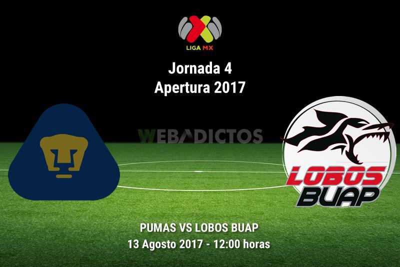 Pumas vs Lobos BUAP, J4 de la Liga MX A2017 | Resultado: 2-0 - pumas-vs-lobos-buap-j4-apertura-2017