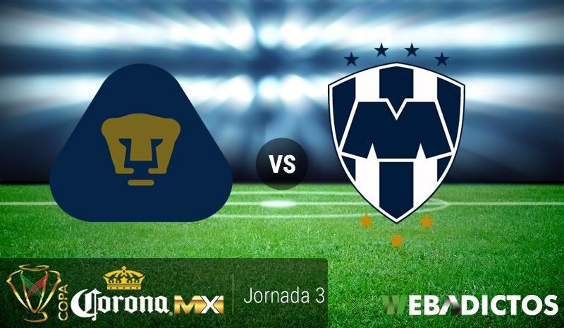 Pumas vs Monterrey, Copa MX Apertura 2017 | Resultado: 1-1 - pumas-vs-monterrey-copa-mx-apertura-2017