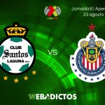 Santos vs Chivas, Jornada 6 del Apertura 2017 ¡En vivo por internet!