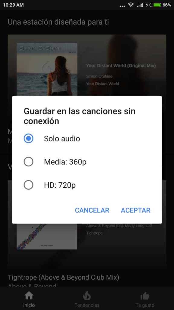 screenshot 2017 08 05 10 29 33 398 com google android apps youtube music YouTube Music ahora permite descargar canciones, álbumes y playlists