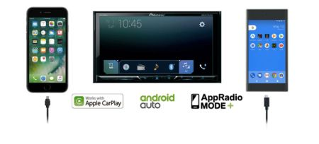 Nueva Serie Z de auto-estéreos multimedia de Pioneer