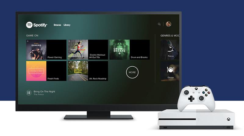 Spotify para Xbox One ya disponible - spotify-para-xbox-one