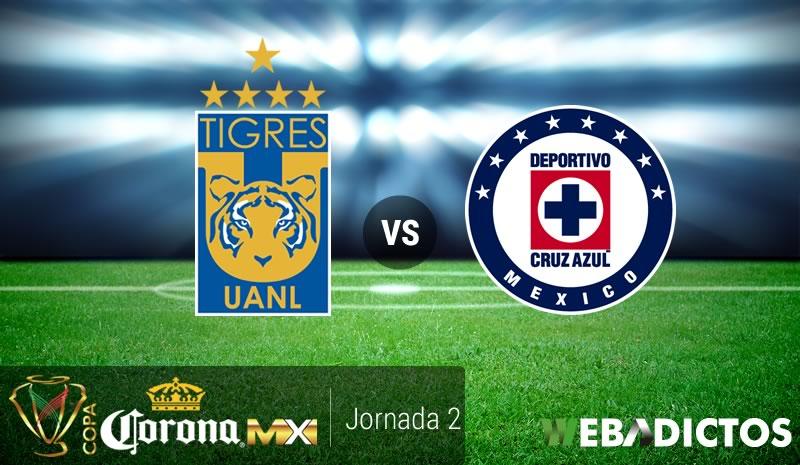 Tigres vs Cruz Azul, Jornada 2 de Copa MX A2017 | Resultado: 1-1 - tigres-vs-cruz-azul-copa-mx-apertura-2017