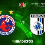 Veracruz vs Querétaro, J5 del Apertura 2017 | En vivo