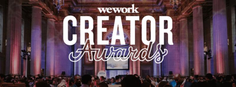 WeWork trae a México los premios Creator Awards - wework-trae-a-mexico-los-premios-creator-awards-800x295