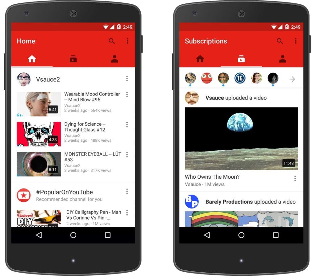 YouTube está probando un contador de reproducciones en tiempo real en Android - youtube-app