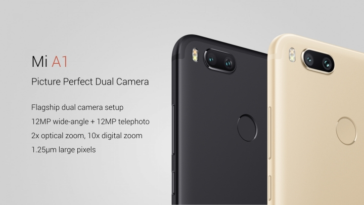 Xiaomi y Google presentan al Mi A1, el primer Android One de la firma china - a1-camera