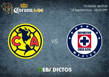 América vs Cruz Azul, Copa MX Apertura 2017 ¡En vivo por internet!