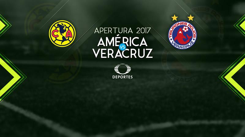 América vs Veracruz, Jornada 8 Liga MX A2017   Resultado: 2-0 - america-vs-veracruz-televisa-deportes-apertura-2017