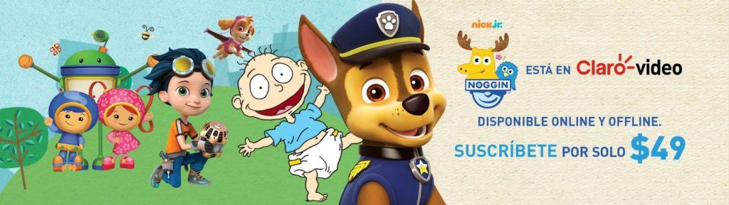 Noggin, entretenimiento para los más pequeños ahora disponible en Claro video - banner-noggin-en-claro-video